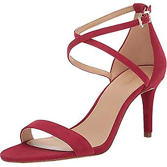 Michael Michael Kors Womens Ava Leather Open Toe Casual Ankle Strap Sandals