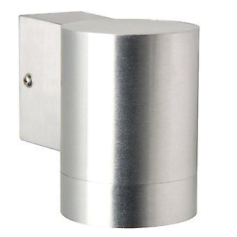 1 lichte buitencilinder kleine downlight aluminium IP54, GU10