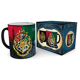 Harry Potter Crest Heat Changing Mug