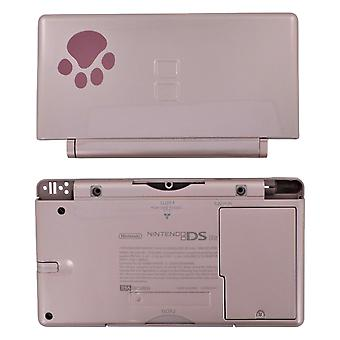 Full housing shell for nintendo ds lite console complete repair kit replacement - nintendo dog pink | zedlabz