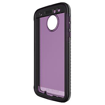 Tech21 Evo Tactical XT Case with Holster for Moto Z Droid - Violet/Purple