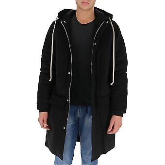 Rick Owens Drkshdw Du20f1970my09 Men's Black Cotton Outerwear Veste