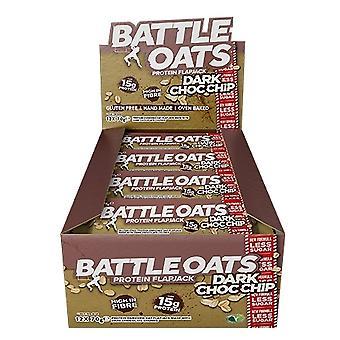 Battle Snacks Flapjacksdark 70 gr x 12 uds