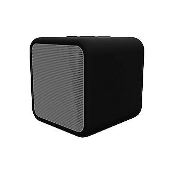 Bluetooth Wireless Speaker Kubic Box KSIX 300 mAh 5W Black