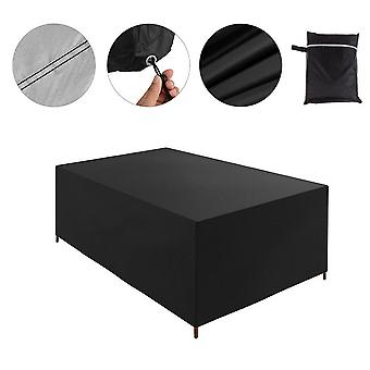 Waterproof Garden Furniture Cover Patio Rattan Table Cube Outdoor Heavy Duty