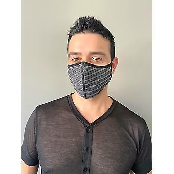 Hood Andrew Christian Glitter Stripe Mask
