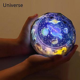 Starry Sky Projector, Planet Magic Projector Toy Earth Universe Led Lamp