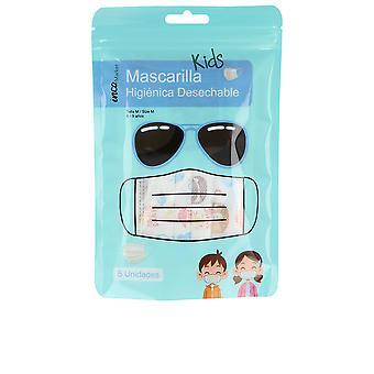 Masque de marché inca Desechable Infantil Set 5 Pz Unisex