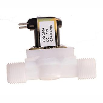 Plastic Electric Magnetic Water Control Valve Solenoid Switch Normally Closed
