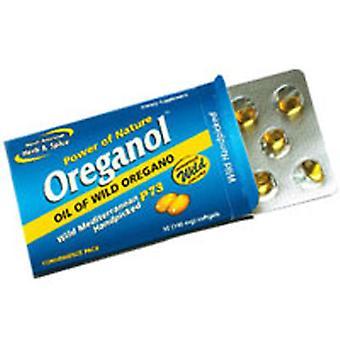 North American Herb & Spice Oreganol P73 Blister Pack, 10 Géis macios