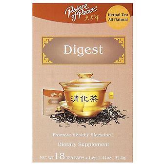 Prince Of Peace Herbal Tea, Digest 18 Bags