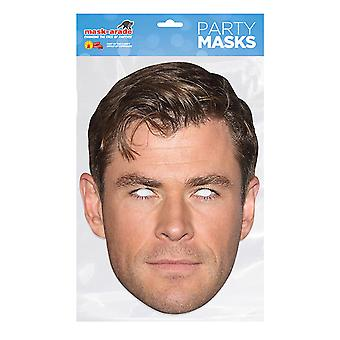 Mask-arade Chris Hemsworth Celebrities Party Face Mask