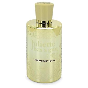 Midnight Oud Eau De Parfum Spray (Tester) Par Juliette Has A Gun 3.4 oz Eau De Parfum Spray