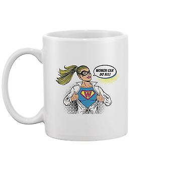 Pop Art Superhelden Becher -Bild von Shutterstock