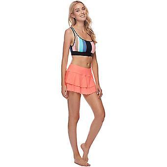 Body Glove Women's Smoothies Lambada Solid Mesh Cover Up Skirt Swimsuit, Sple...