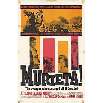 Impresión de Poster de película de Murieta (27 x 40)