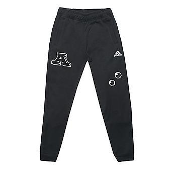 Boy's adidas Junior Collegiate Jog Hose in schwarz