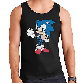 Sonic The Hedgehog Fist Bump Men's Vest