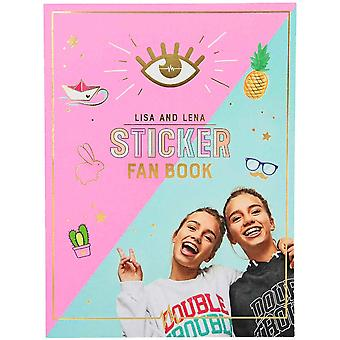 J1M071 Lisa And Lena Fan Book Craftsbook Stickers & Postcards