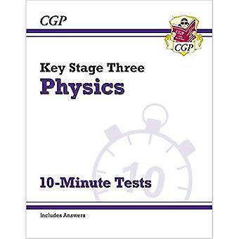 New KS3 Physics 10-Minute Tests (with answers)