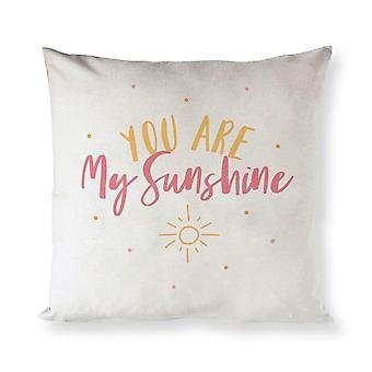 Cotton Canvas Pillow Cover
