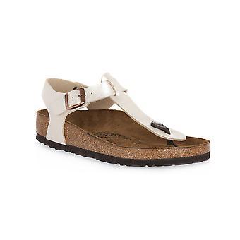 Brkenstock kairo pearl white calz n sandals