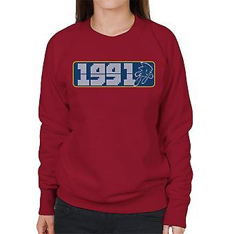 Sonic Der Igel 1991 Frauen's Sweatshirt