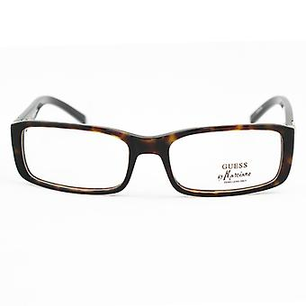 Ladies'Spectacle frame Guess Marciano GM117-TO Brown (ø 53 mm)
