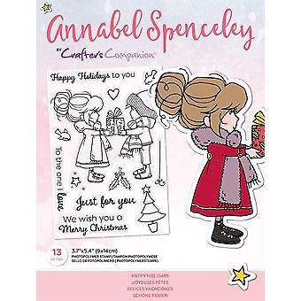 Crafter's Begleiter Annabel Spenceley Happy Holidays Briefmarken
