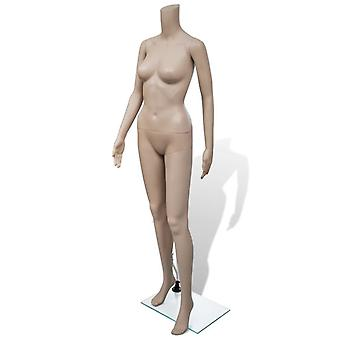 Mannequin woman without head