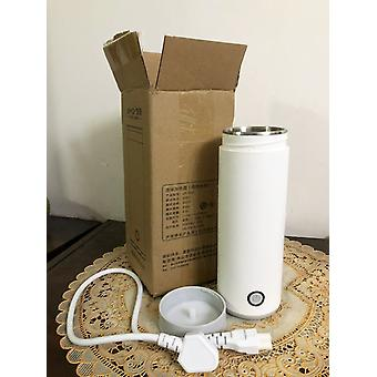 Portable Travel Electric Water Kettle, Mini Thermos, Smart Teapot Heating Cup,