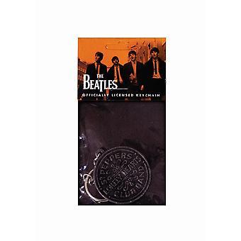 The Beatles Sgt Pepper Logo Keyring