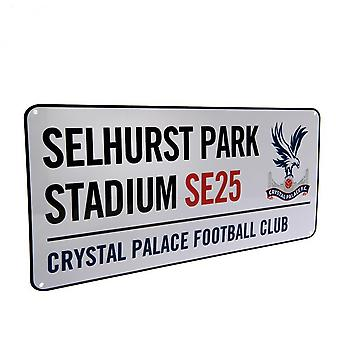 Crystal Palace FC Official Street Sign