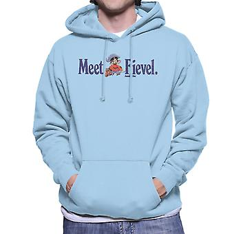 An American Tail Meet Fievel Mousekewitz Men's Hooded Sweatshirt