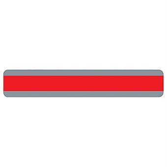 "Double Wide Sentence Strip Reading Guide, 1.25"" X 7.25"", Red"