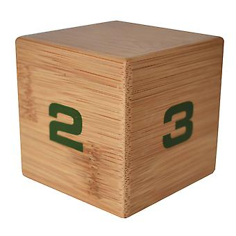 Bamboo Timecube 1-2-3-4 Minute Preset Timer
