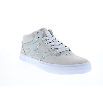 DC Kalis Vulc Mid Mens Gray Skate Geïnspireerd Sneakers Schoenen