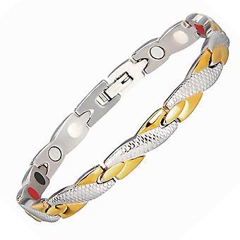 Magnetic Ion Germanium Bracelet Men, Pulseras Hombre Chain Link