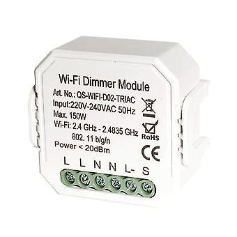 DIY Smart WiFi Light LED Dimmer Kytkin Smart Life /Tuya APP Kaukosäädin 1/2/3 Way Switch Wo