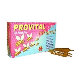 Children's Provital 20 ampoules
