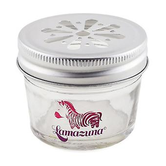 Glass jar for solid cosmetics 1 unit