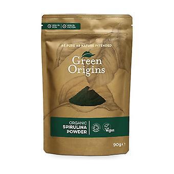 Organic Powdered Spirulina 90 g of powder