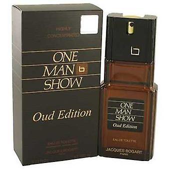 One Man Show Oud Edition By Jacques Bogart Eau De Toilette Spray 3.4 Oz (men) V728-537495