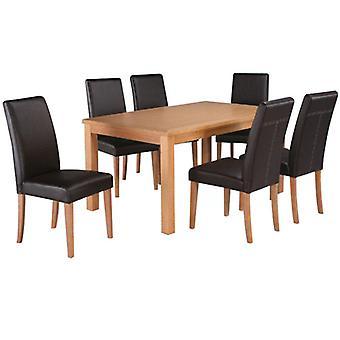Lalluba Oak spisebord alene