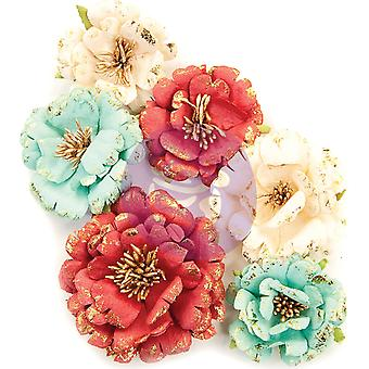 Prima Marketing Midnight Garden Flores Pretty In Rouge