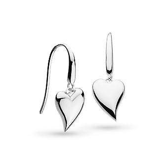 Kit Heath Desire LuHeart Rhodium Plated Drop Boucles d'oreilles 60507RP