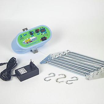 Eu-kontakt, elektrisk vagga controller, spädbarn extern power swing driver med 7