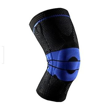 Silicone Spring Full Knee Brace Strap Patella Medial Support Strong Meniscus