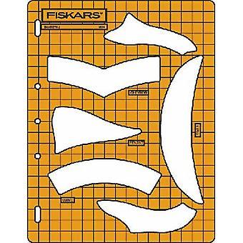 Fiskars Shape Cutter Template - Banners 2