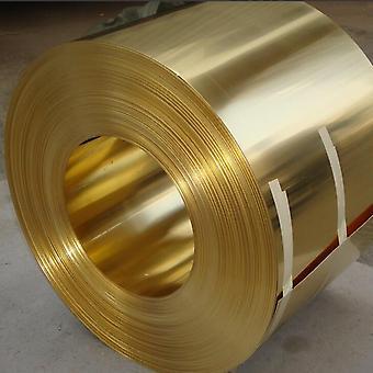 0.1x200mm H62 Brass Strip Sheet Foil